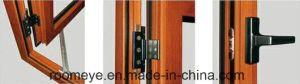 Ex-Factory 가격 (ACW-064)를 가진 목제 곡물 색깔 고품질 열 틈 방수 방음 알루미늄 여닫이 창 Windows