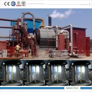 Raffinazione del petrolio nera da 10 tonnellate alla macchina diesel del distillatore