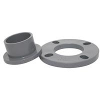 Adaptateur plastique PVC Bride DIN standard