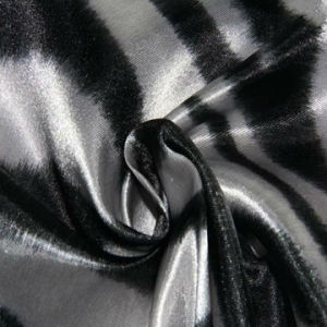 Gedrucktes Satin Fabric, 75 X 100d, Made von 100% Polyester, Glossy, Twisted Yarn