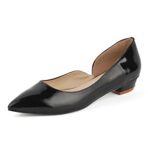 Plano de la mujer de moda Zapatos de Vestir (HCY02-1759)
