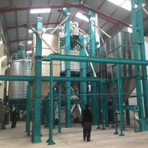 Farine de maïs entièrement automatique machine/moulin à farine de maïs/usine de broyage de maïs