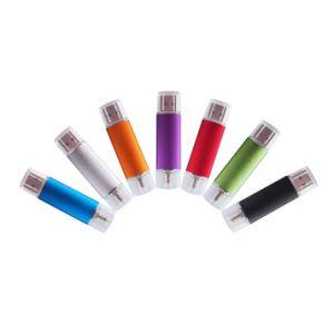 8 цветов смарт-телефон флэш-накопитель USB OTG флэш-накопитель USB, Micro USB флэш-накопитель, смарт-телефон U диск 4 ГБ/8 Гб/16 Гб/32 Гб оптовая торговля