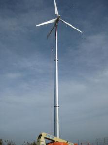 Viento de 10kw Planta de Energía Solar para el hogar o comunidad utilizan