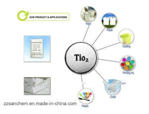 Voedsel en Kosmetisch Chemisch TiO2/Titanium Dioxyde Anatase & Rutiel Tr81 (HS code: 3206111000)