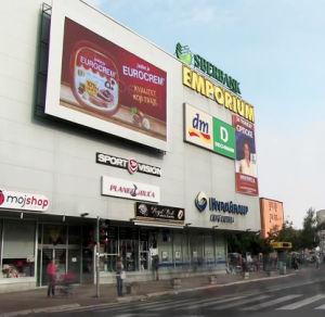 Grand affichage LED de plein air