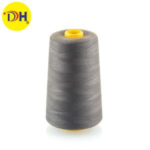 Venda de fábrica 100% linhas de costura de fibras de poliéster 60/3 5000y para os acessórios de vestuário a melhor qualidade