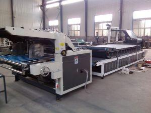 Bzl Serien-halbautomatische Beschichtung-lamellierende Maschine