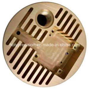 La norma ISO 9001 CNC de piezas de latón y aluminio/acero inoxidable