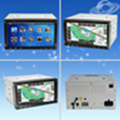 Touch Screen를 가진 Dash DVD Player에 있는 6.2  6.2  닛산 Series 두 배 DIN