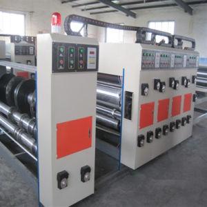 기계장치를 인쇄하는 2개의 색깔 물 잉크 판지