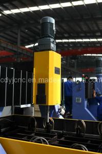 Machine de perçage de plaques CNC pour plaque de tôle d'acier