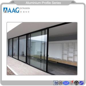 Perfiles de aluminio para ventana, persianas, muebles y decoración de la casa y la pared de cortina