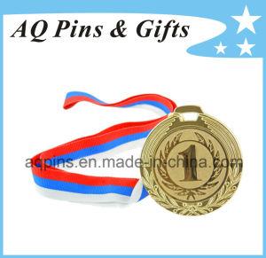 Förderndes Goldmedaillon des Geschenk-3D mit kundenspezifischer Nr. (131)