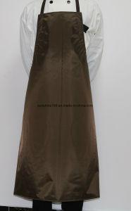 Grembiule impermeabile della busbana francese della lavapiatti della cucina di nylon del macellaio