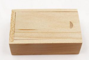 La madera unidad Flash USB Stick Pen diseñado en madera