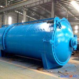 2650X6000mm ASME elektrische Standardheizung vorverlegter Convectional Glas-Autoklav