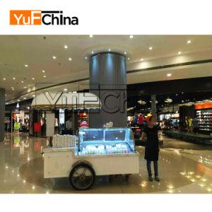 Design moderno preço atraente Ice Popsicle Frigorífico Carro