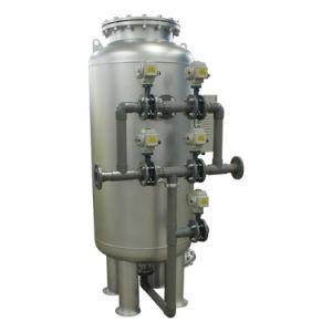 Canalización de 8 pulgadas de 100 ton/h Backwashing omitir el filtro de arena