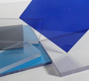 紫外線保護ポリカーボネートのプラスチック固体シート