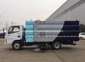Dongfeng 4X2 вакуумного щеточная машина высокой стоимости эффективное всасывание пыли погрузчика