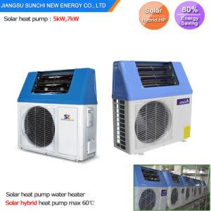 260L 7kw 9kwの暖房Cop5.32のヒートポンプの太陽給湯装置