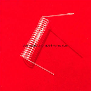 Best Selling Espiral transparente de alta temperatura do tubo de Sílica