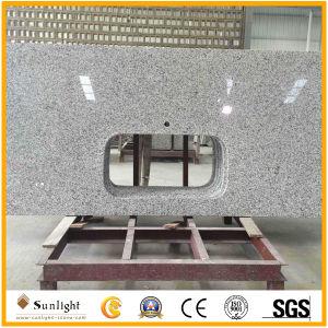 Gris blanc naturel personnalisé G655 comptoirs de cuisine salle de bains en granit de matériaux