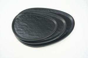 L'art de la plaque ovale de la plaque (D160009)