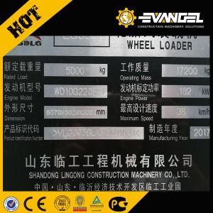 Sdlg Lader van het Wiel van Payloader LG958L van 5 Ton de Mini voor Verkoop