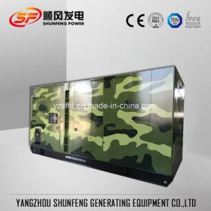 generatore diesel di potere insonorizzato silenzioso di 375kVA 300kw con Cummins Engine