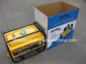 2kw Astra韓国の携帯用ガソリンエンジンガソリン発電機