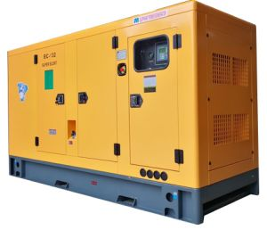 140kVA Ricardo 엔진을%s 가진 고품질 Widly에 의하여 사용되는 상업적인 침묵하는 디젤 엔진 발전기