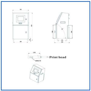 Code van de Partij van de Druk van de Printer van de Bescherming van het multi-wachtwoord de Ononderbroken Ink-Jet (EG-JET1000)