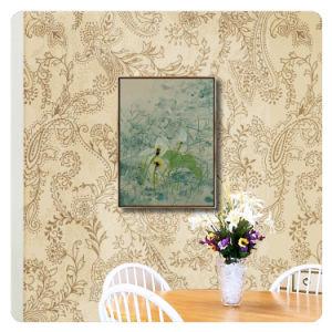 Maschera astratta di arte della parete della pittura della tela di canapa con la pagina per il salone, hotel, decorazione del ristorante