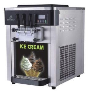 Máquina de helado soft sobremesa|máquina de helados