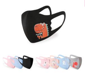 Diseño de Moda niños impresión seda hielo reutilizables de tela lavables mascarillas de protección contra polvo