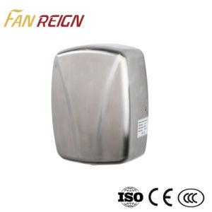 Nuevo diseño ultra fino acero inoxidable de alta velocidad Secador de manos Factory