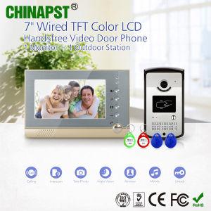 Video citofono del portello del nuovo appartamento con la foto che cattura funzione (PST-VD07R-ID)