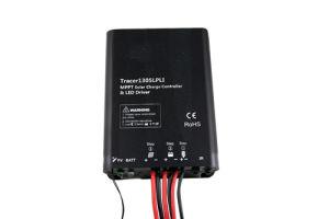 Regolatore solare della carica della batteria di litio MPPT con il driver incorporato del LED