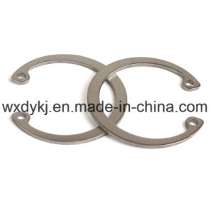 Anello di conservazione della molla dell'acciaio inossidabile
