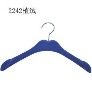 Fantastische Marken-blaue Samt-Aufhängungen für Kleid