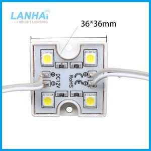 12V DMX RGB SMD 5050 Plastic LEIDENE 4LEDs 0.96W Module