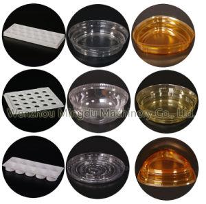 機械(モデル500)を作るプラスチック卵の皿
