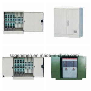 Casella esterna europea della filiale del cavo ad alta tensione di Dfw2 10kv 24kv 35kv/giunzione elettrica con l'interruttore del caricamento dell'isolamento Sf6