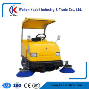 Elektrische Straßen-Reinigungs-Maschinen-Straßen-Kehrmaschine