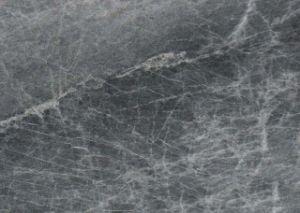 台所のための磨かれた自然な石、銀製のワシの/Silverの灰色の大理石のタイルかホール