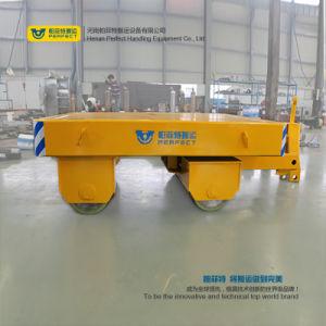 중국은 Dolly 무거운 재료 이동을%s 편평한 트레일러 손수레를 견인했다