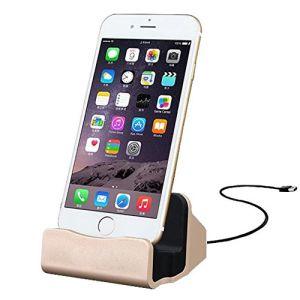Suporte para carregamento e sincronização Carregador para iPhone 7