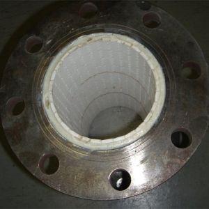 アルミナの摩耗および耐衝撃性の陶磁器の並べられた鋼管